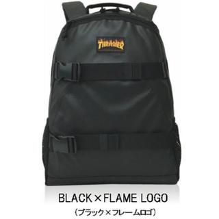 スラッシャー(THRASHER)の新品未使用品 THRASHER 黒 BLACK フレームロゴ BACKPACK(バッグパック/リュック)