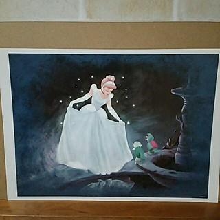 ディズニー(Disney)のディズニー シンデレラ絵画2(ポスター)