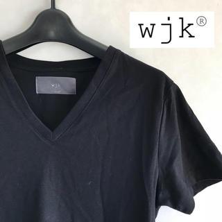 ダブルジェーケー(wjk)のwjk Vネック Tシャツ(Tシャツ/カットソー(半袖/袖なし))