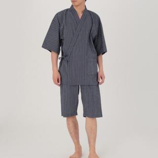 ムジルシリョウヒン(MUJI (無印良品))のオーガニックコットンしじら織り 甚平・紳士L(浴衣)