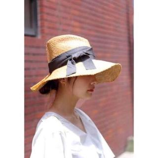 4c9f808be7b ドゥーズィエムクラス(DEUXIEME CLASSE)のLOLA HATS(ローラハット)グレーリボン(
