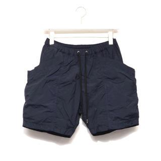 コモリ(COMOLI)のTEATORA Packable navy shorts テアトラ(ショートパンツ)