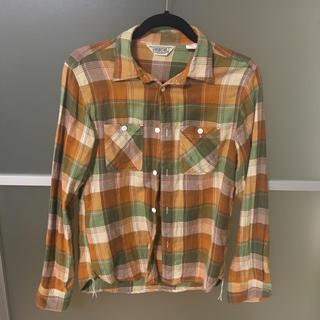オルタナティブ(ALTERNATIVE)のFIVE BROTHER ユニセックス チェックシャツ(シャツ/ブラウス(長袖/七分))
