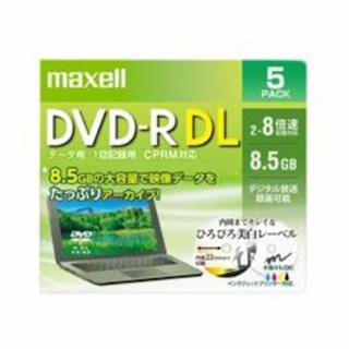 マクセル(maxell)のmaxell DVD-R DL 一枚バラ売り(PC周辺機器)