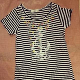 パラビオン(Par Avion)のパラビオン ロング丈 Tシャツ(Tシャツ(半袖/袖なし))