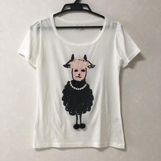 シップスフォーウィメン(SHIPS for women)のシップス購入 ゆるTシャツ HERB 未使用品(Tシャツ(半袖/袖なし))