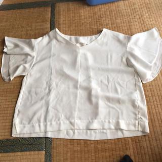 ジーユー(GU)のGU ブラウス XL(シャツ/ブラウス(半袖/袖なし))