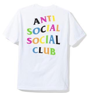 アンチ(ANTI)のANTI SOCIAL  Rainy Dayz White Tee /S(Tシャツ/カットソー(半袖/袖なし))