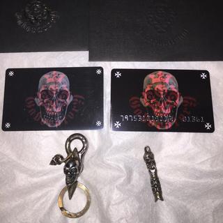 ガボール(Gabor)のガボール GABOR skull on clip skull macaroni(キーホルダー)