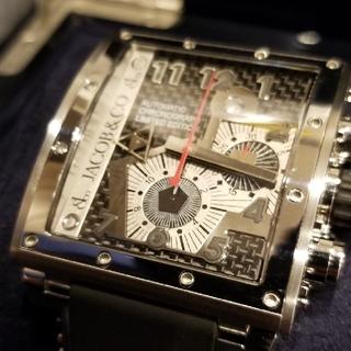 ウブロ(HUBLOT)の大幅値下げ!ジェイコブ エピックV2 美品(腕時計(アナログ))