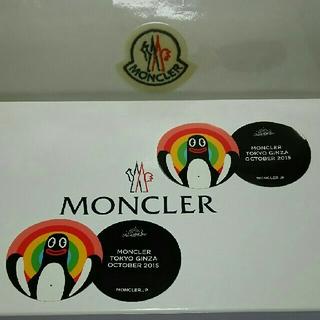 モンクレール(MONCLER)の★☆MONCLER 銀座店 オープニング★ステッカー☆★(その他)