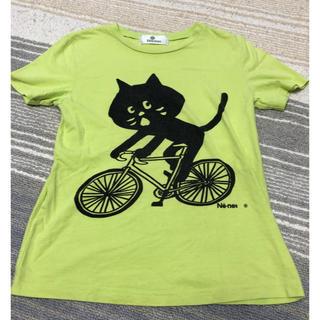 ネネット可愛いにゃーTシャツサイズ140