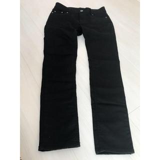 シマムラ(しまむら)の黒 パンツ 67センチ(スキニーパンツ)