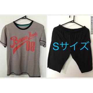 ジーユー(GU)の送料込★GU ルームウェア グレー(Tシャツ/カットソー(半袖/袖なし))
