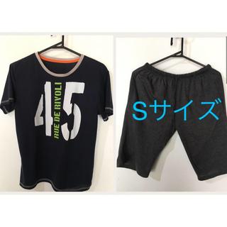 ジーユー(GU)の送料込★GU ルームウェア 紺(Tシャツ/カットソー(半袖/袖なし))
