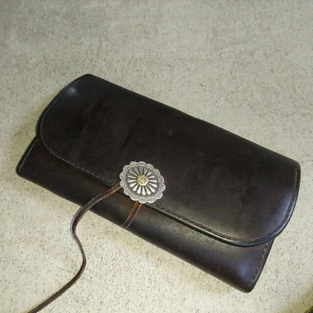 b0ca186fb1ed goro's(ゴローズ)のゴローズ goro's 確実正規 フラワーコンチョ付 財布 メンズのファッション