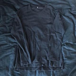 ユニクロ(UNIQLO)のポケツキ長袖Tシャツ(Tシャツ/カットソー(七分/長袖))