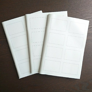 MUJI (無印良品) - 【未使用】無印良品 4コマノート 3冊セット