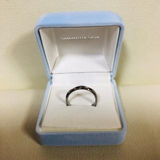 SAMANTHA SILVA BKロジウムコーティングリング 指輪