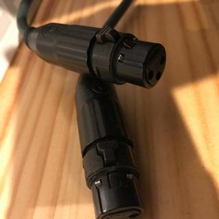 Oyaide QAC-222 ケーブル TRSフォン XLRメス 7m×2本(ケーブル)