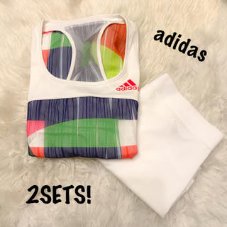 アディダス(adidas)の【新品】アディダス ワンピース(ウェア)
