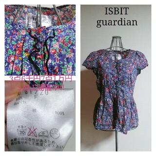 アイズビットガーディアン(ISBIT GUARDIAN)の3点6千7点1万セール ISBIT  guardian リバティ花柄ブラウス(シャツ/ブラウス(半袖/袖なし))
