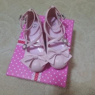 ベイビーザスターズシャインブライト(BABY,THE STARS SHINE BRIGHT)のリボンシューズ(ローファー/革靴)