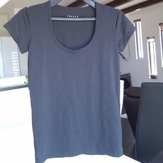 セオリー(theory)のノーマルTシャツ☆ブラック☆送料込み(Tシャツ(半袖/袖なし))