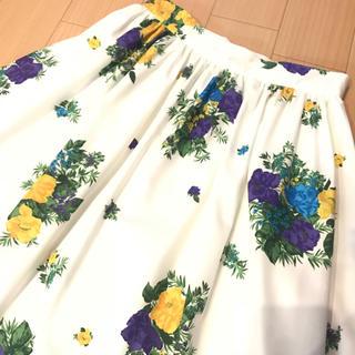 ♡フラワープリントスカート♡