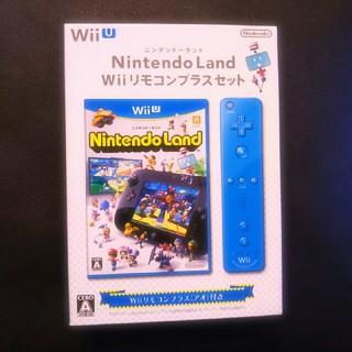 ウィーユー(Wii U)の新品未開封♡ニンテンドーランド WIiUリモコンプラスセット(家庭用ゲームソフト)