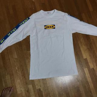 イケア(IKEA)のIKEAロングシャツ(Tシャツ/カットソー(七分/長袖))