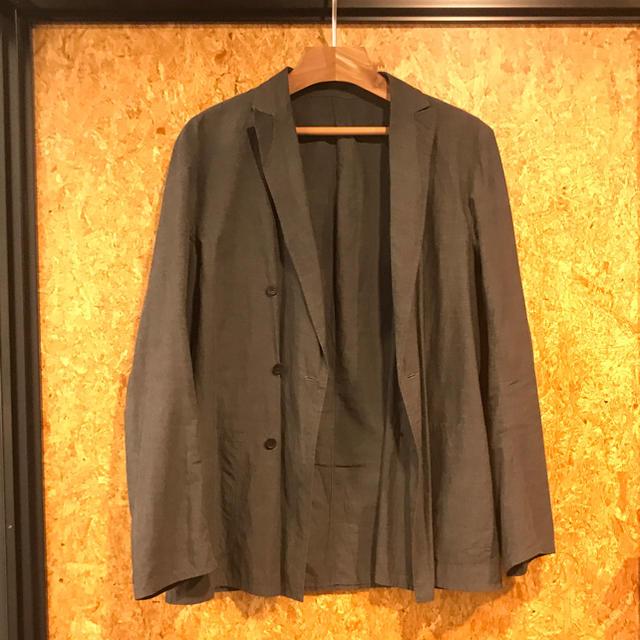 COMOLI(コモリ)のCOMOLI 15ss タイプライタージャケット ダブル size1 メンズのジャケット/アウター(テーラードジャケット)の商品写真