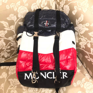 モンクレール(MONCLER)の新品未使用 kith moncler  バックパック トリコカラー(その他)