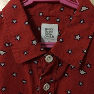 グラニフ(Design Tshirts Store graniph)のグラニフ 星柄シャツ(シャツ/ブラウス(半袖/袖なし))