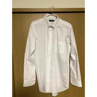 メンズ ビジネスシャツ Yシャツ 形状安定 サマーシャツ  XLサイズ(シャツ)