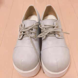 ユメテンボウ(夢展望)の💞ぼってり靴 厚底ブーツ(ローファー/革靴)