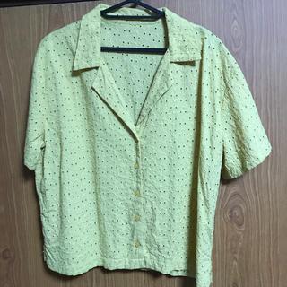 ジーユー(GU)のGU シャツ XXLサイズ(シャツ/ブラウス(半袖/袖なし))