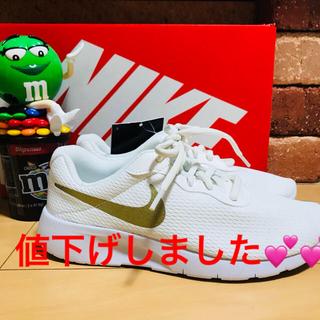 ナイキ(NIKE)の新品NIKE TANJUN GS♡23cm ウィメンズ(スニーカー)