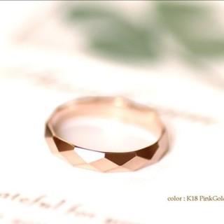 k18ピンク ゴールド リング(リング(指輪))