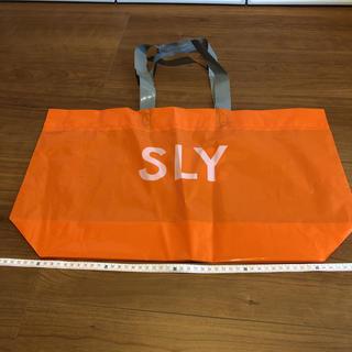 スライ(SLY)の未使用 SLY スライ ショッパー(ショップ袋)