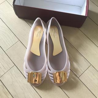 サルヴァトーレフェラガモ(Salvatore Ferragamo)のFERRAGAMO新品(レインブーツ/長靴)