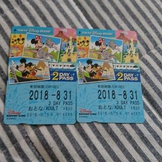 ディズニー(Disney)のディズニー モノレール 2Day(鉄道乗車券)