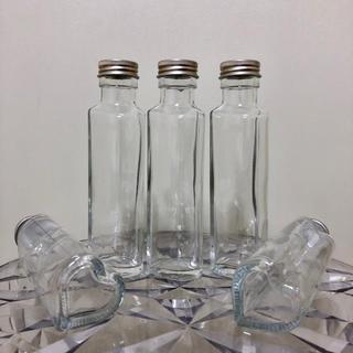 ハーバリウム ハートガラス瓶5本(その他)