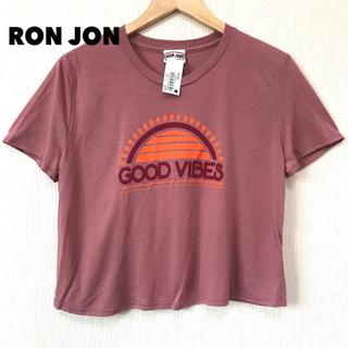 パタゴニア(patagonia)の残① 水着の上に ♪ USA製 ロンジョン ショート丈 Tシャツ  M相当(水着)