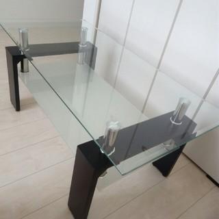 ♥ガラステーブル♥(ローテーブル)