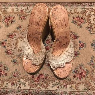 ロキエ(Lochie)のrace design sandal ♥(サンダル)