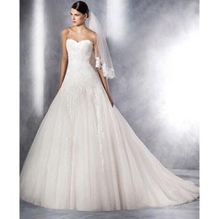 373f5025d4e26 ヴェラウォン(Vera Wang)のSS様専用 pronovias whiteone ウェディングドレス(ウェディング