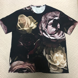 ラッドミュージシャン(LAD MUSICIAN)の17ssビッグローズ T レッド(Tシャツ/カットソー(半袖/袖なし))
