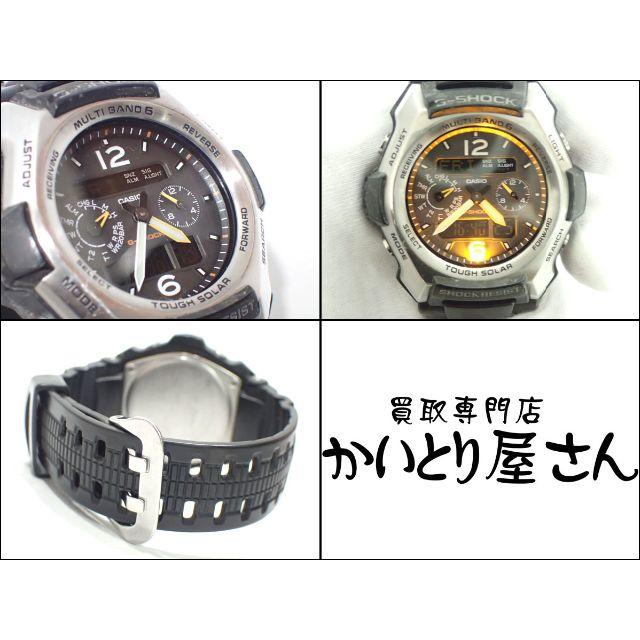 CASIO(カシオ)のA630 中古 カシオ Gショック GSHOCK GW-2500 メンズ メンズの時計(腕時計(アナログ))の商品写真