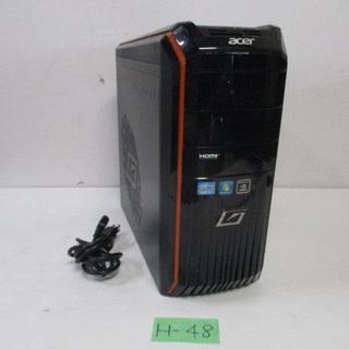 エイサー(Acer)のacer/プレデター/Win10/i7-3770/2TB/8GB 第3世代(デスクトップ型PC)